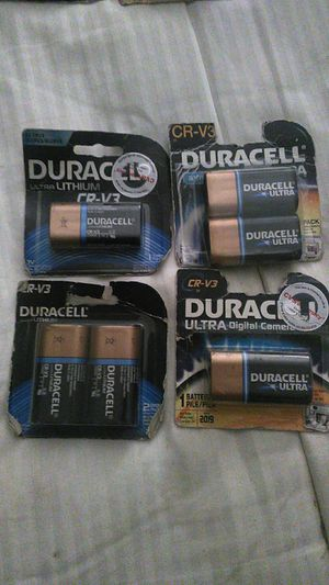 Duracell CR-v3 for Sale in Temecula, CA