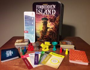 Forbidden Island Board Game for Sale in Marietta, GA
