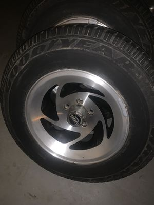 15 in rims and tires for Sale in Duluth, GA