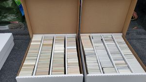 90's baseball cards (approx 6000) contents unknown, need gone! for Sale in Vancouver, WA