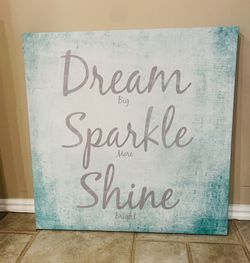 2 foot x 2 foot Adorable framed canvas- for Sale in South Jordan,  UT