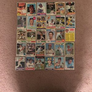 Baseball Cards - Terrible Condition Cards Of All Star & Hall Of Fame Players for Sale in South Brunswick Township, NJ