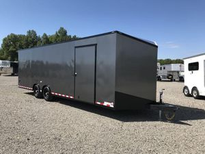 2021 8.5x28 Bravo Star Enclosed Bumper Pull Car Trailer for Sale in North Jackson, OH