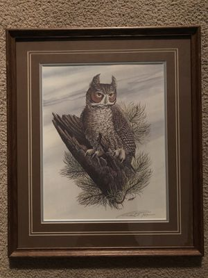 Robert Nipp Limited edition signed print 1970s framed for Sale in Evansville, IN