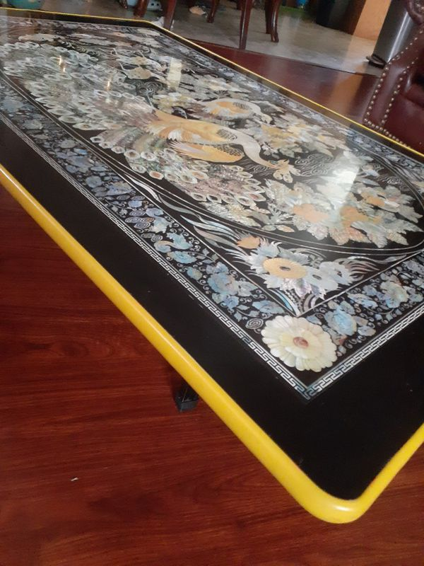 Beautiful EXOTIC coffee table