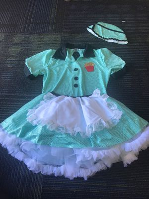 Girls waitress costume for Sale in San Diego, CA