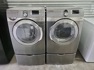 Samsung frontload washer and dryer set for Sale in Nashville, TN