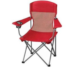 Ozark Trail Basic Mesh Folding Camp Chair with Cup Holder red color A15-281 for Sale in St. Louis, MO