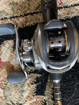 Bass Pro Shops Pro Qualifier rod/reel combo for Sale in Chandler, AZ