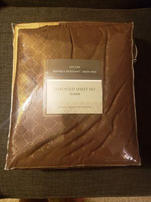 Queen Sheet Set-- BRAND NEW for Sale in Menifee, CA