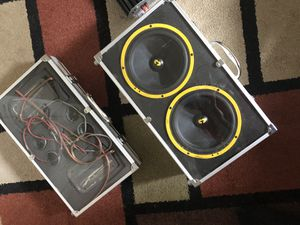CDT ES Car Audio Speakers for Sale in San Diego, CA