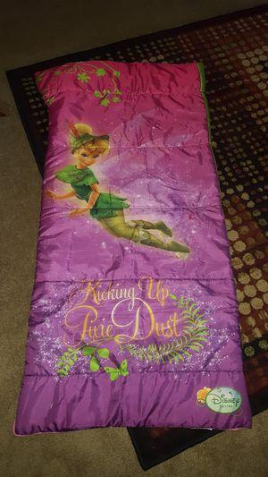 Toddler tinkerbell sleeping bag for Sale in Alvarado, TX