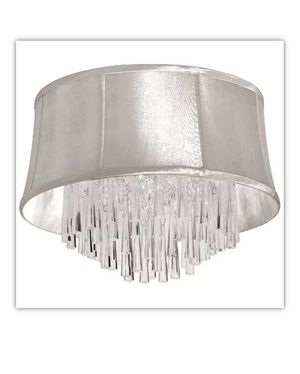 Dainolite Lighting JUL184FH-PC-117 Crystal Oval Chandelier, Polished Chrome for Sale in Brooklyn, NY