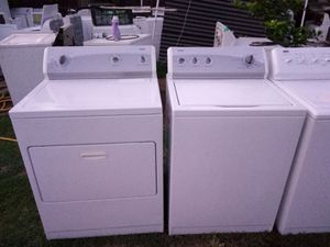 Kenmore heavy duty extra large-capacity washer and dryer set with warranty for Sale in Fresno, CA