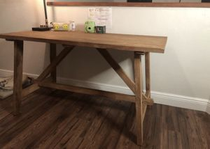 Beautiful 100% wood desk and chair for Sale in Miami, FL