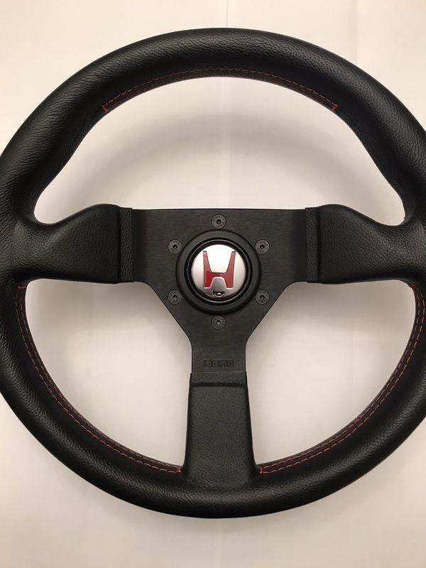 Jdm momo steering wheel nsx horn button Honda S2000 civic