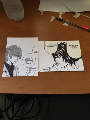 Death Note Manga Panels for Sale in Santa Maria, CA