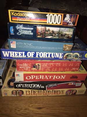 Games and puzzles for Sale in Cherry Hill, NJ