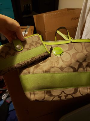 Authentic Coach Purse and Wallet for Sale in Spokane Valley, WA