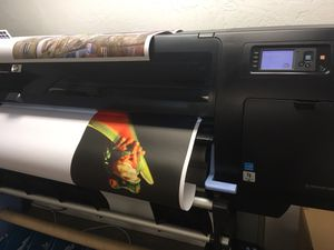 "HP designjet z6200 60"" wide format printer for Sale in Los Angeles, CA"