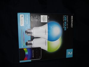 Smart led color changing light bulbs for Sale in Charlotte, NC