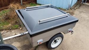 Small trailer. Motorcycle or sports car trailer for Sale in Mesquite, TX