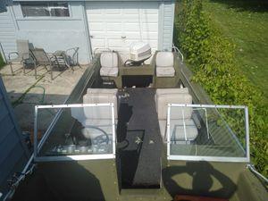 Boat -trailer -motor for Sale in Roseville, MI