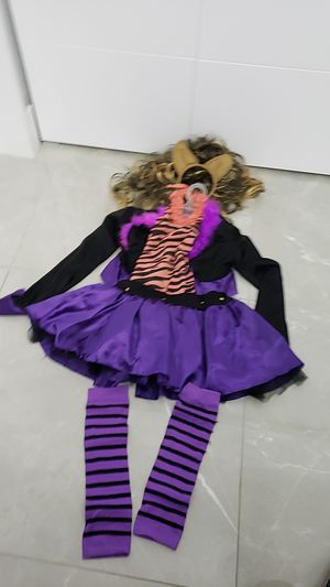 Monster High Girl Clawdeen Wolf Costume Size 14 for Sale in Miami, FL