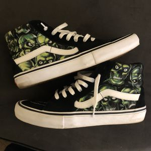 Supreme Skull Vans Sz 11.5 for Sale in Cary, NC