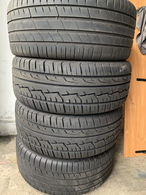 """22"""" rims and tires good condition for Sale in Rancho Santa Margarita, CA"""