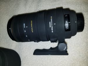 Sigma Telephoto Camera Lens 80-400mm (reduced) for Sale in Austin, TX