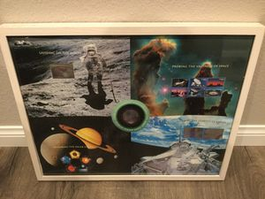 NASA stamp poster. RARE for Sale in San Diego, CA