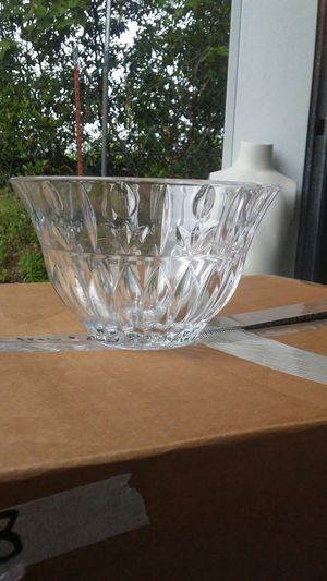 Etched glass bowl for Sale in Tyler, TX