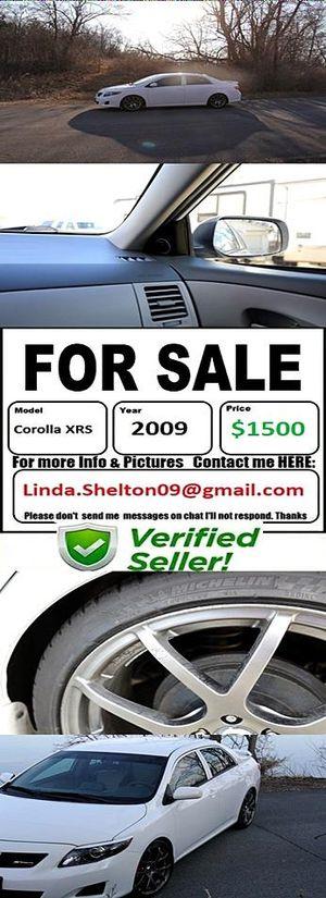 CLEAN2OO9 Toyota CorollaXRS Greatshape for Sale in Nashville, TN