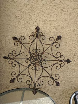 New wrought iron metal garden patio decoration indoor and outdoor for Sale in Las Vegas, NV
