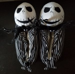 Disney The Nightmare Before Christmas Women's Size 5 6 Jack Skellington Slippers for Sale in Mesquite, TX