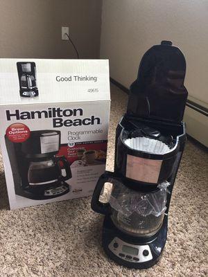 Hamilton Beach- 12 cup coffee maker for Sale in Rochester, MN