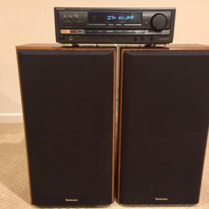 Technics Receiver And Technics Speakers for Sale in Washington, DC