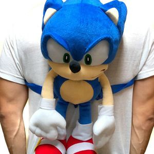 Brand NEW! Sonic The Hedgehog Novelty Plush Backpack Zippered Pouch For Everyday Use/Parties/Gaming/Toys/Birthday Gifts for Sale in Carson, CA