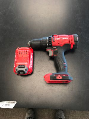 Craftsman CMCD700 drill with battery for Sale in Lakeland, FL