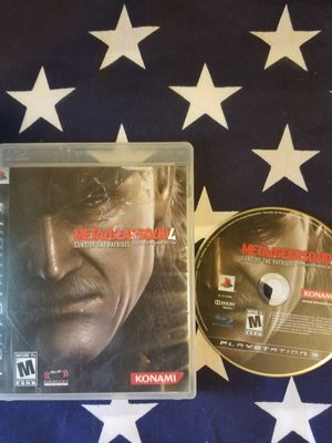 Metal Gear Solid 4 (PS3) for Sale in US