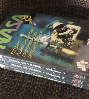 NASA 25 years ( volumen 1-2-3)-Dvd- for Sale in Tamarac, FL