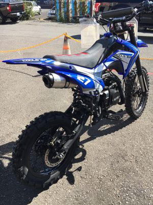 Brand New 2020 coolster 125 Bigwheel dirt bike pitbike for Sale in Tacoma, WA