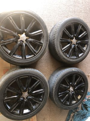 """Set of 18"""" Audi Wheels and tires for Sale in San Diego, CA"""