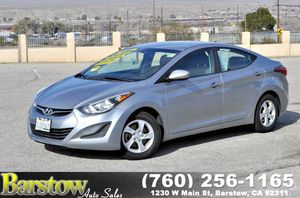 2015 Hyundai Elantra for Sale in Barstow, CA