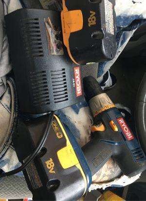 Ryobi 18 v drill for Sale in Philadelphia, PA