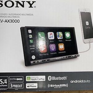 "Sony XAV-AX5000 7"" Car Stereo Receiver with Apple CarPlay/Android Auto/Bluetooth for Sale in Dallas, TX"