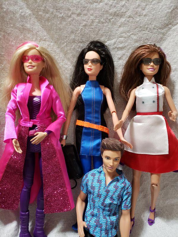 Barbie Spy Squad Secret Agents