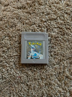 Pokémon silver for Sale in Fuquay-Varina, NC