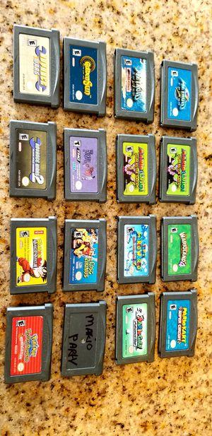 Legit Original Nintendo Gameboy Advanced Games for Sale in Riverside, CA